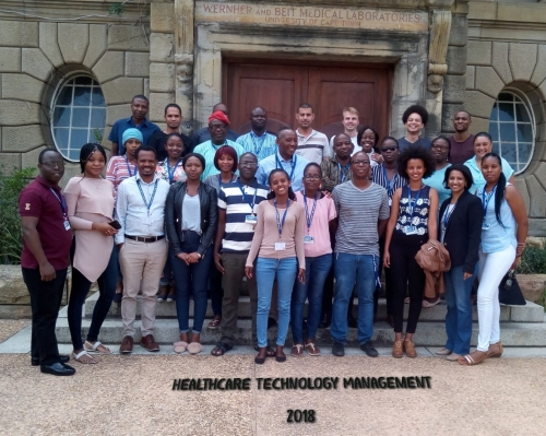 Welcome to 2018 Class in PGDipl Healthcare Technology